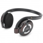 B-360 HSP / HFP / A2DP / AVRCP Bluetooth Stereo Headset w / TF / FM - Black + Rosybrown + Silber