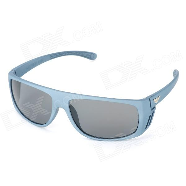 Outdoor Sports UV400 Protection Resin Lens Sunglasses for Men -Grey