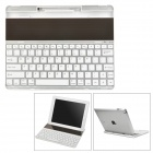 Ultradünne Solared Powered 82-Keys drahtlose Bluetooth v3.0-Tastatur für iPad 2/3/4 - Weiß