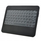 Wireless Bluetooth v3.0 66-Keys Touch Keyboard Cover for Ipad MINI / 4 / Samsung Tablets - Black