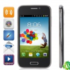 "GT-I9502 Android 4.1 GSM Bar Phone w / 4.0 ""kapazitiver Schirm, Quad-Band, TV und Wi-Fi - Schwarz"