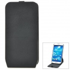 Protective Flip-Open 360 Degree Rotation Case for Samsung Galaxy S4 i9500 - Black