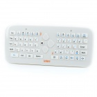 Lefant F2S 2.4GHz Wireless 61-Key Keyboard + 1000dpi Air Mouse w/ Receiver Combo - White