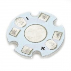 JR - 16 mm Aluminum Circuit Board Cooling Plate - White + Silver (100 PCS)