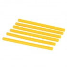 Universal Durable ABS Plastic Sticks for Tamiya model DIY project - Yellow (6 PCS)