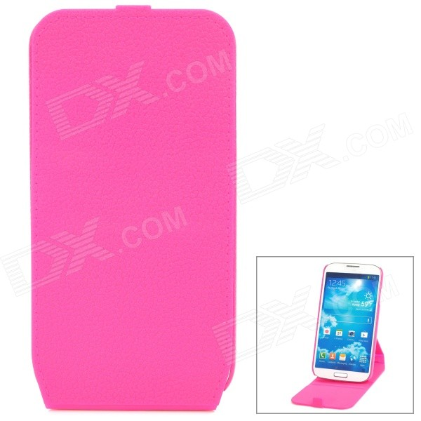 все цены на Protective Flip-Open 360 Degree Rotation Case for Samsung Galaxy S4 i9500 - Deep Pink онлайн