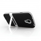 ENKAY Protective Soft TPU + Plastic Case Cover for Samsung Galaxy S4 / i9500 - Black