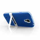 ENKAY Protective Soft TPU + Plastic Case Cover for Samsung Galaxy S4 / i9500 - Blue