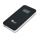 "1"" LCD  Portable USB 2.0 802.11b/g/n Wireless Router  - Black+Silver"