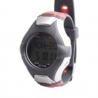 SB-025 Stylish Multifunctional Pedometer Heart Rate Calories Counter Sports Watch - Silver + Grey