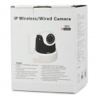 1.0MP Surveillance HD Wireless IP Camera w/ Wi-Fi / SD - Black
