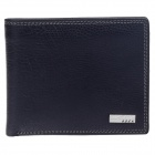 BEIDIERKE B023-918 High-grade Head Layer Cowhide Cow Leather Wallet - Black