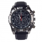Super speed V6 V0180 Men's Racer Quartz Wrist Watch - Black (1 x LR626)