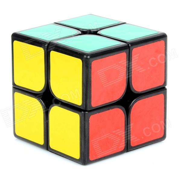 DAYAN High Quality Speedy 2 x 2 x 2 50mm Brain Teaser Magic IQ Plastic Cube - Multicolored new dayan gem cube vi magic cube black and white professional pvc