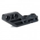 Universal Durable Nylon Plastic Flashlight Clip for M4 Guns - Black