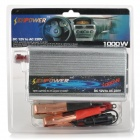 Senpower 1000W Car 12V DC to 220V AC Power Inverter with Universal Socket Adapter