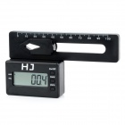 HJ LCD Digital Pitch Gauge for RC Helicopters and Servos - Black (2 x CR2032)
