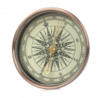 BoShiLe J51 Tragbares Outdoor-Analog Compass - Schwarz + Coppery