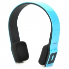 AITA AT-BT801 Stylish 640mAh Bluetooth V3.0+Edr Wireless Stereo Headset - Blue + Black