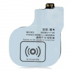 Wireless Charging Receiver Coil for Samsung Galaxy S4 i9500 - White + Black