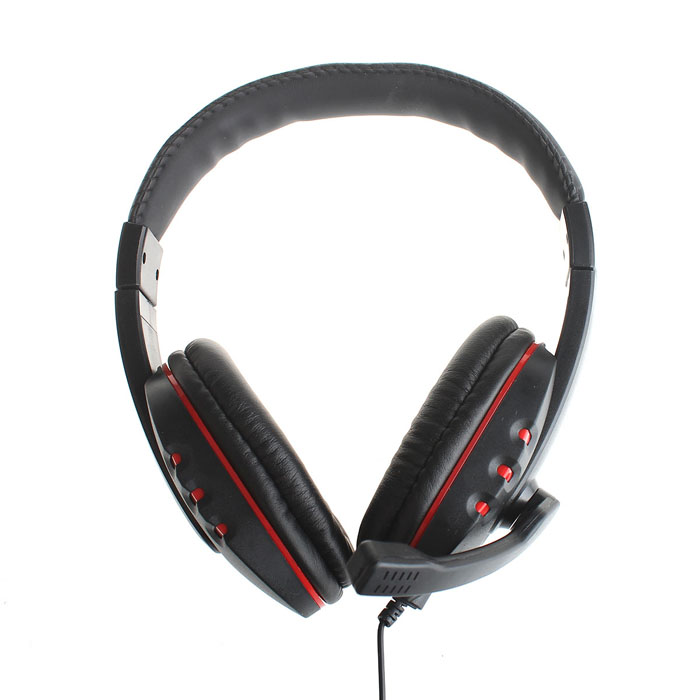 914-5 Cool Hi-Fi Wired Headset w/ Microphone for Xbox360 - Black (110cm)