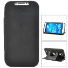 Protective 360 Degree Rotation Silicone Case for Samsung Galaxy S4 i9500 - Black