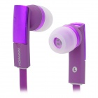 KDM-E810 Super Bass 3.5mm Plug In-Ear Earphone - Purple