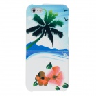 Fashion Mill SandSeascape Pattern Back Removable Lid Case for Iphone 5 - Multi-Colored