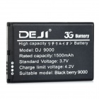 DEJI DJ-9000 3.7V 1500mAh Replacement Li-ion Battery for BlackBerry 9000 / M-S1