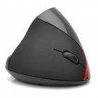 2.4GHz 1200dpi USB 2.0 Wireless Vertical Optical Mouse - Black