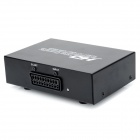 SCART to 1080P / 720P HDMI Converter w/ Power Adapter - Black + White
