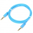 3.5mm Male to Male Audio Connection Cable - Light Blue (100CM)