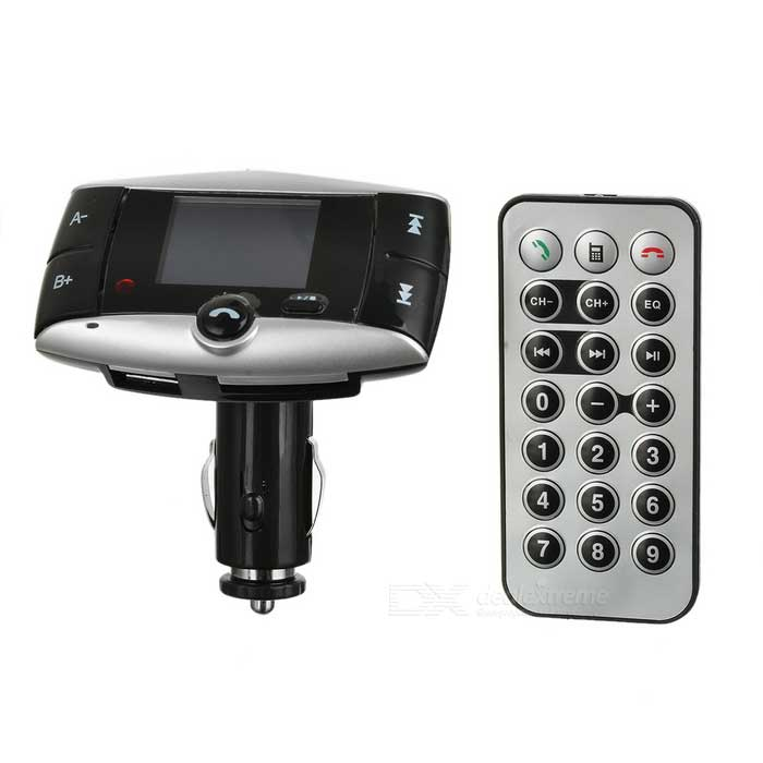"1.5"" LCD 2.4GHz Bluetooth v2.0 FM Transmmitter Car MP3 Player w/ SD / Hands-Free Speakerphone"