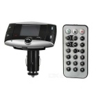 "1.5 ""LCD Bluetooth v2.0 2.4GHz FM Transmmitter Car MP3 Player w / SD / viva-voz"