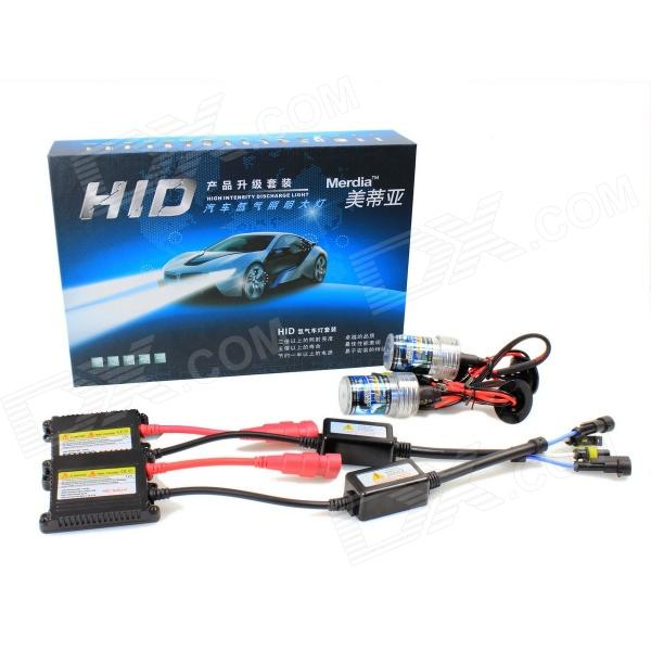 Merdia H1 35W 6000K 2800lm HID Xenon Lights w/ Ballasts Kit (DC 9~16V)