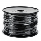 YZ02-175 ABS 1.75~1.8mm 3D Printer Consumables Filaments for Makerbot / RepRap / Mendel - Black