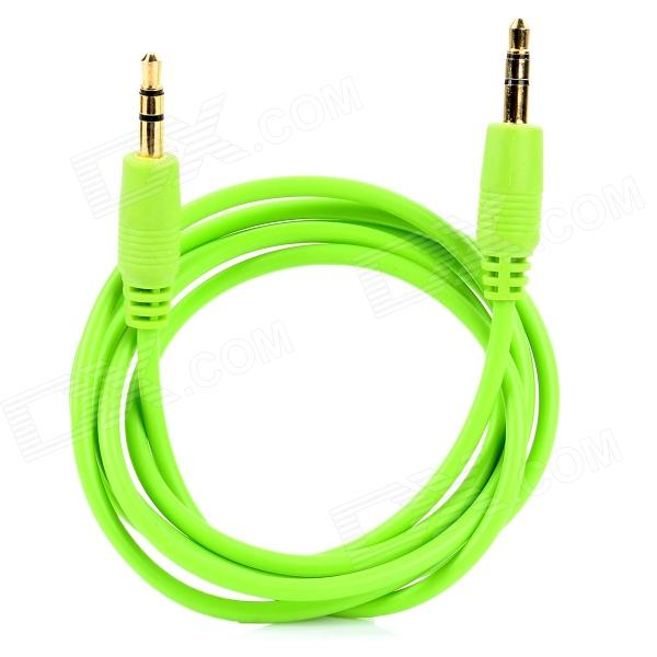 3.5mm Male to Male Audio Extension Cable - Green (100 CM)
