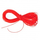 Wear Resistant Weave Wire Fishing Line - Red