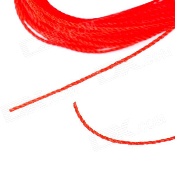 Wear resistant weave wire fishing line red free for Red fishing line