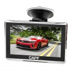 "CAPF DH780B 5.0"" Touch Screen TFT Win CE 6.0 Car GPS Navigator w/ Bluetooth / TF / FM / AV-IN- Black"