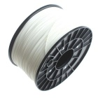 3D Printer ABS Filament On Reel - White (1.75mm / 1KG)