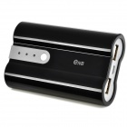 ENB Micro USB Rechargeable 18650 Mobile Power Bank Charger - Black (Max. 1.5A)