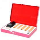 KANGLEER KLE1 Mini Quit Smoking USB Rechargeable Electronic Cigarette with 5 Refills Set - White