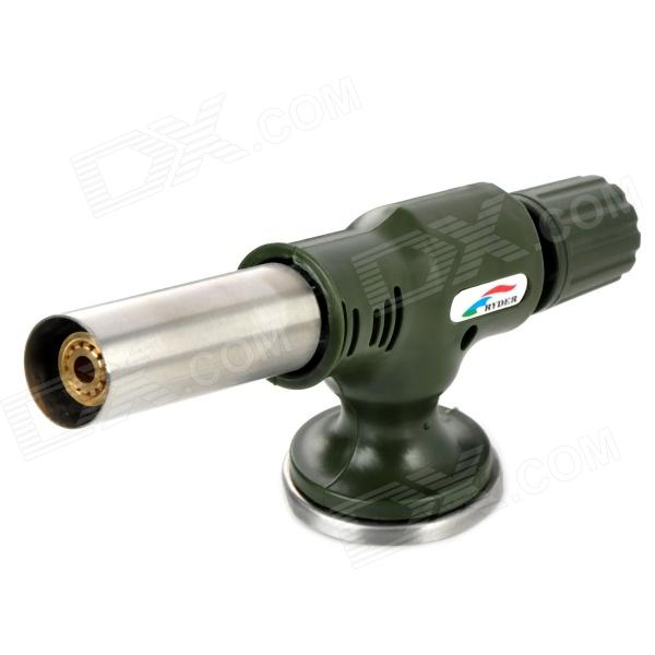 RYDER Outdoor Picnic Butane Torch with Piezo Ignition