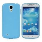 TEMEI Protective Silicone Back Case for Samsung Galaxy S4 i9500 - Blue + White
