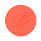 Coke Can Silicone Cup Cover Lid - Red