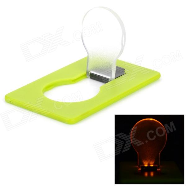 Doule Card Style 0.1W Yellow Light 2-LED Night Lamp