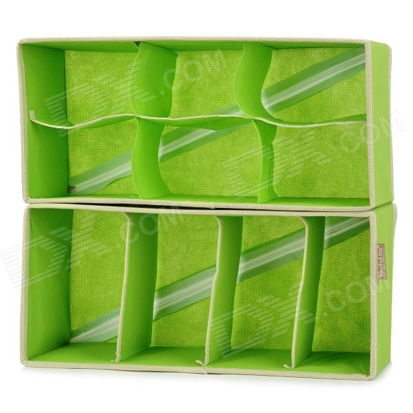Socks Under Wear Folding Non-woven Fabrics Storage Box Set - Green (2 PCS) Coral Springs Продажа по объявлению