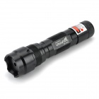 UItraFire SD-502B 5mW 650nm Red Laser Flashlight - Black (1 x 18500)