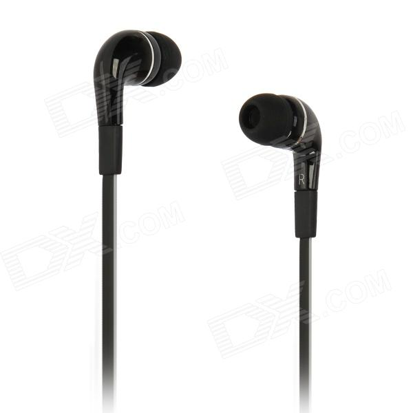AE41 In-ear Earphone Cable w/ MIC /  Remote - Black (3.5mm-Plug / 128cm-Cable)